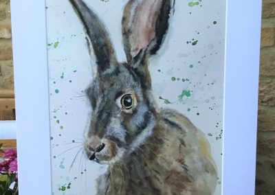 'March Hare' print