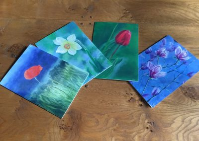 'Blooms' card collection